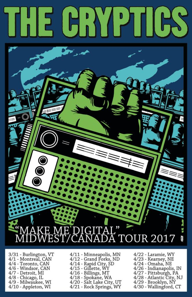The Cryptics Canada Amp Midwest Tour Happening Now Pine